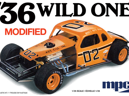 MPC 1/25 36 Chevy Modified 'Wild One' (MPC929)