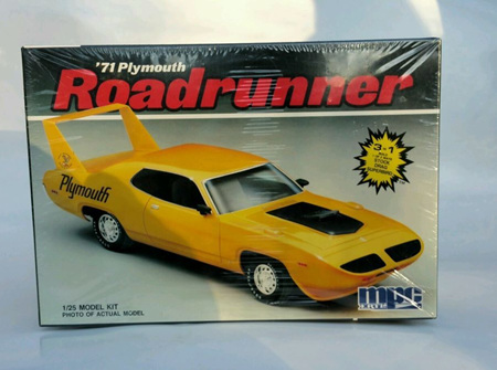 MPC 1/25 71 Plymouth Roadrunner (MPC6282)