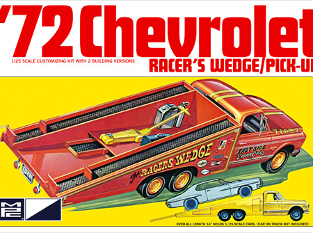 MPC 1/25 72 Chevy Racers Wedge/Pick-Up (MPC885)