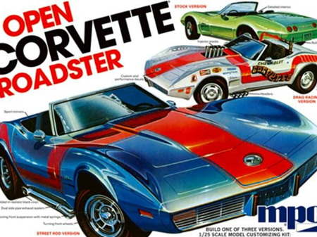 MPC 1/25 '75 Chevy Corvette Convertible