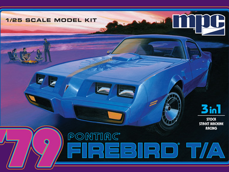 MPC 1/25 79 Pontiac Firebird T/A 3in1