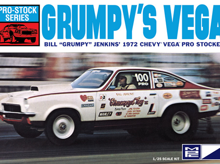MPC 1/25 Bill 'Grumpy' Jenkins 1972 Chevy Vega Pro Stocker (MPC877)