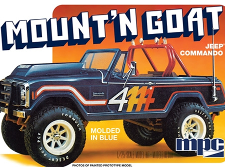 MPC 1/25 Jeep Commando Mount'n Goat