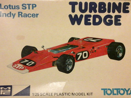 MPC 1/25 Lotus STP Indy Racer Turbine Wedge