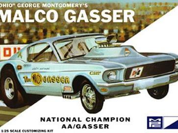MPC 1/25 Ohio George Malco Mustang Gasser