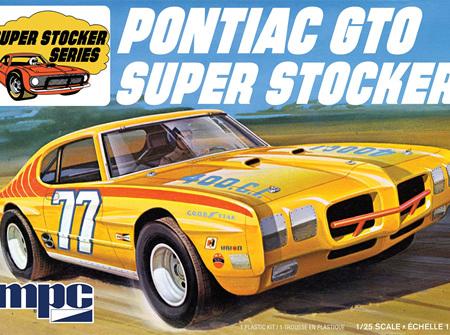 MPC 1/25 Pontiac GTO Super Stocker (MPC939)