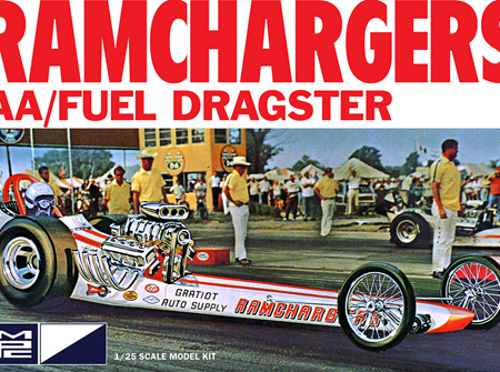 MPC 1/25 Ramchargers AA/Fuel Dragster (MPC940)