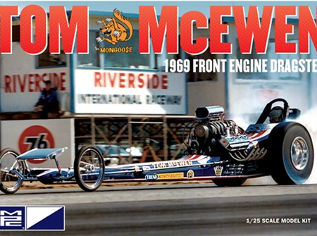 MPC 1/25 Tom McEwen 1969 Front Engine Dragster (MPC900)