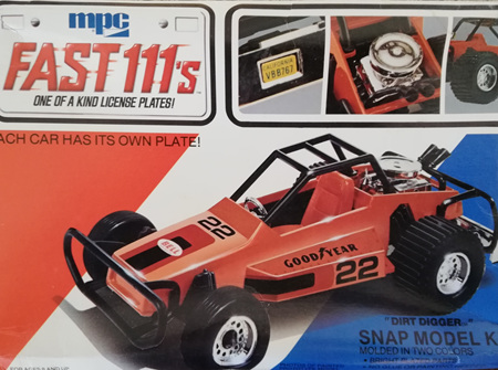 MPC Fast 111's Dirt Digger Snap Kit