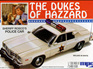 MPC 1/25 Dukes of Hazzard Sheriff Roscoe Police Car