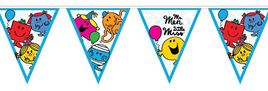 Mr Men Bunting 190cm