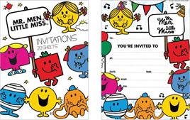 Mr Men & Little Miss Party Range