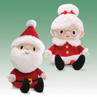 Mr & Mrs Claus Dolls