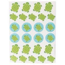 Mr Turtle Stickers