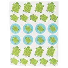 Mr Turtle Stickers