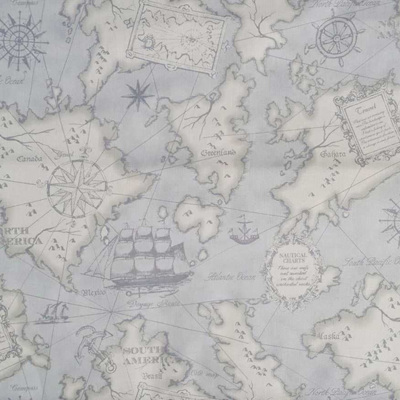 Mrs March Nautical Map