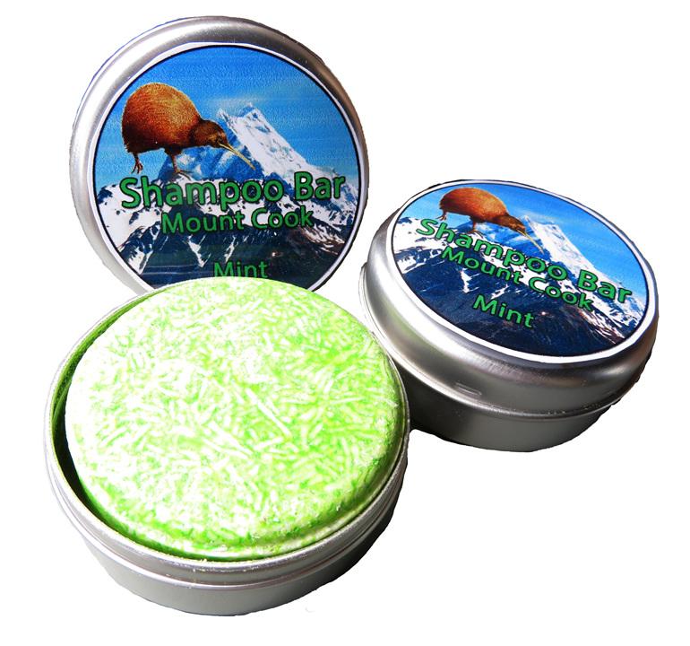Mt Cook Mint Shampoo Bar