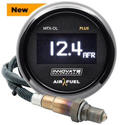MTX-OL Plus:  Digital Wideband Air/Fuel Ratio OLED Gauge