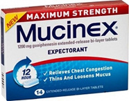 Mucinex 1200mg Maximum Strength 14 tabs
