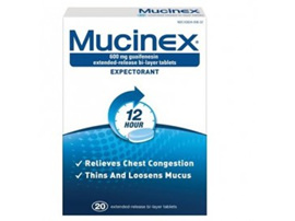 Mucinex 600mg Tablets 20