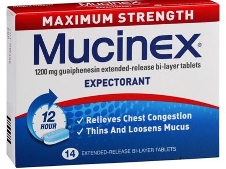 Mucinex Max Strength 1200mg 14's