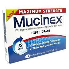 MUCINEX MAX TABS 14 PACK
