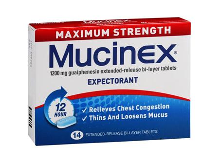 Mucinex Maximum Strength 1200mg Tablets 14