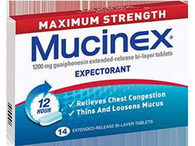 Mucinex Maximum Strength  14 tablets