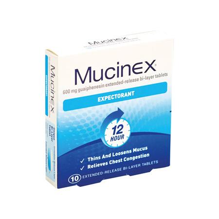 MUCINEX SE 600mg Tabs 10s :