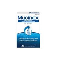 MUCINEX SE 600MG TABS 40 PACK