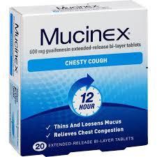 MUCINEX SE TABS 600MG 20 PACK