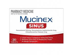 Mucinex Sinus Tablets 24