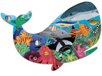 Mudpuppy 300 piece shaped jigsaw puzzle Ocean Life buy at www.puzzlesnz.co.nz
