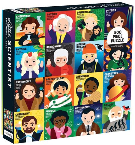 Mudpuppy 500 Piece Jigsaw Puzzle: Little Scientist
