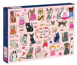 Mudpuppy 1000 Piece Jigsaw Puzzle: Cool Cats