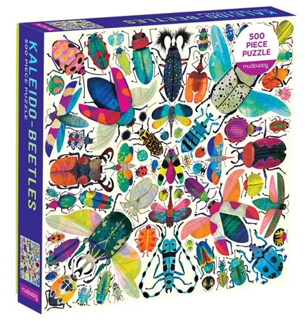 Mudpuppy Kaleido Beetles 500 Piece Jigsaw Puzzle