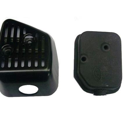 Muffler + Cover for Honda GXV160 engines