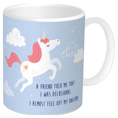 Mug - Almost fell off my Unicorn