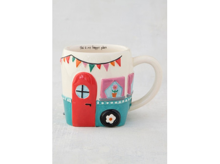 Mug Folk-Be Happy Van