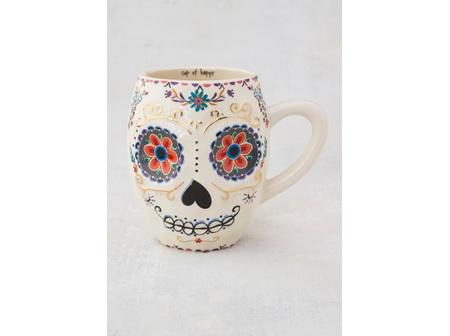Mug Folk-Sugar Skull