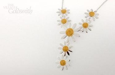 Multi Daisy Necklace