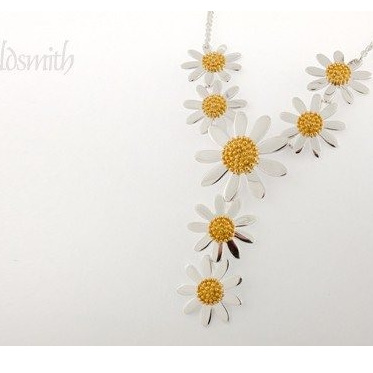Multi Daisy Necklace