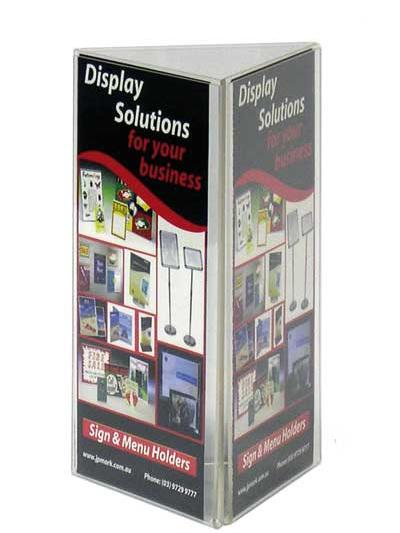 Multi Sided Sign & Menu Holders 60101DL