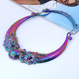 Multicolour Dragon Necklace