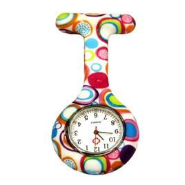Multicoloured Spots Nurses Watch