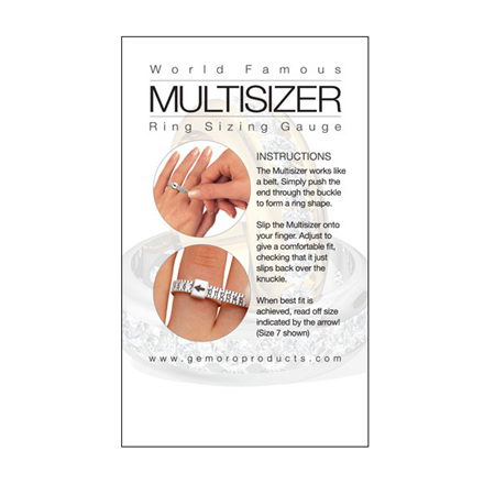 Multisizer Ring Sizing Gauge