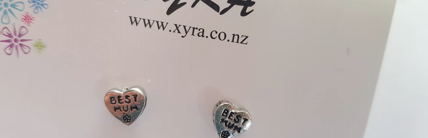 New in XYRA - BEST MUM STUDS in limited quantities only