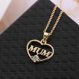 MUM Heart Necklace (2 Colour Options)