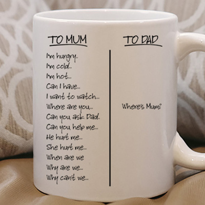 Mum can I this, can I that ,Mug