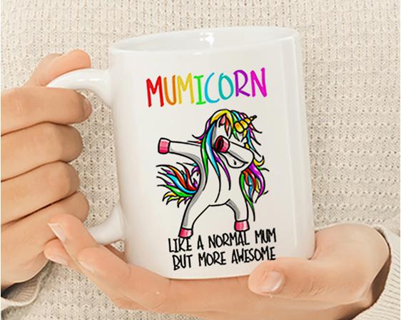 Mumicorn better than normal mum Funny Mug